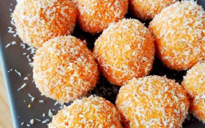 bolitas coco y zanahoria