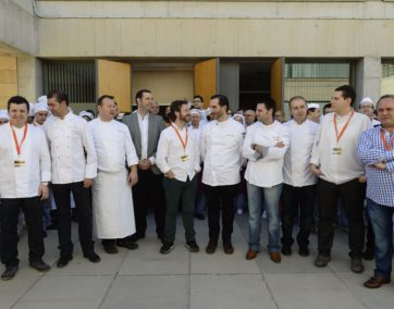 Murcia Gastronómica grupo cocineros  © Nacho García 11/11/2013